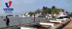 Cais do Entreposto Pesqueiro Atafona-RJ